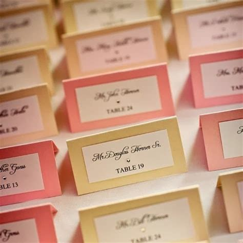 clear labels for wedding place cards wediquette and all about place cards
