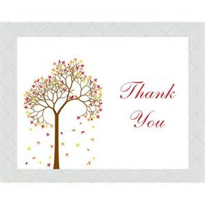 tree thank you cards style 486 whimsicalprints