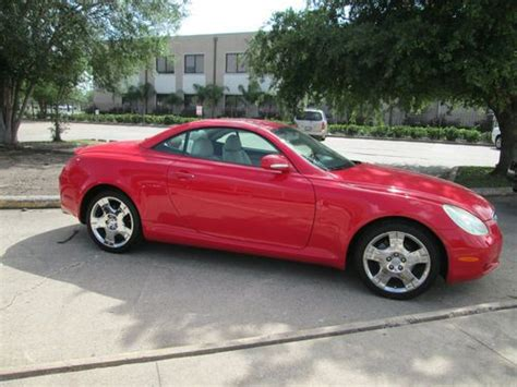lexus convertible 2004 find used 2004 lexus sc430 convertible 2 door in
