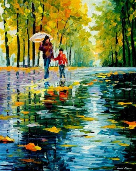 imagenes alegres de lluvia im 225 genes arte pinturas pintura al 211 leo con esp 225 tula