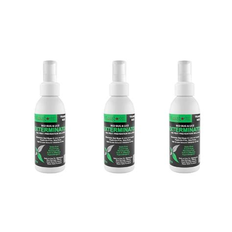 natural bed bug spray hygea natural 3 oz bed bug spray 3 pack extc 2615 the