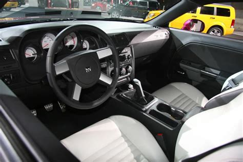 White Challenger Interior by 2010 Panther Pink Furious Fuchsia Dodge Challenger