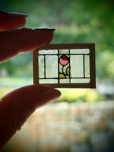 mini stained glass ls 389 best images about dollhouse doors and windows on