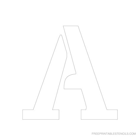 Free Printable Letter Stencils 6 Inch | printable 6 inch letter stencils a z free printable stencils