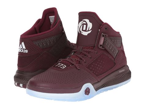 maroon basketball shoes clearance sale mens adidas performance d 773 iv