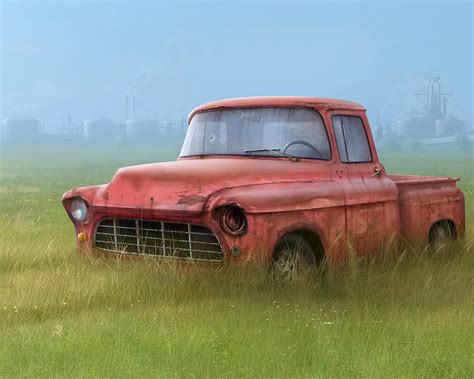 rusty pickup wallpapers old ford truck f100 ford old truck re
