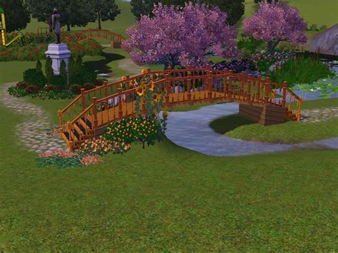 sims 4 cherry tree mod the sims cherry tree garden relaxing community lot