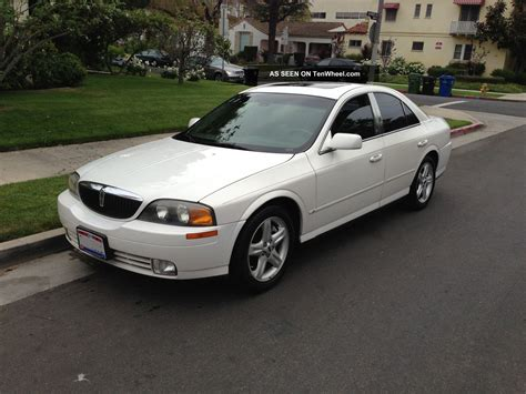 2000 lincoln ls 2000 lincoln ls base sedan 4 door 3 0l