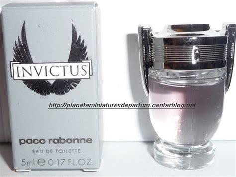 miniature parfum invictus paco rabanne parfum homme