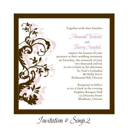 stephita wedding invitations wedding invitation simp2 beau rivage high tower