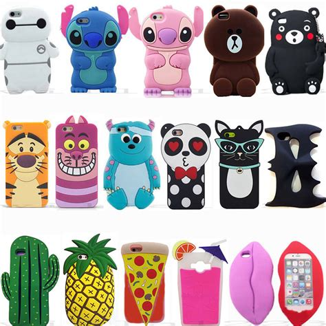 Lenovo K 5 50 Cone 3d Softcase Silicon K5 new 3d animal soft silicone covers