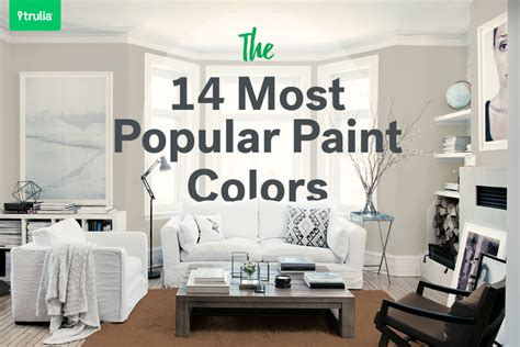 best colors for rooms the 14 most popular paint colors they make a room look