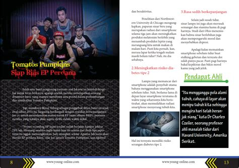 layout majalah dengan adobe illustrator my portofolio contoh desain majalah di adobe indesign