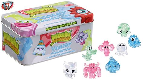 squishy moshi moshi monsters squishy collection limited edition tin