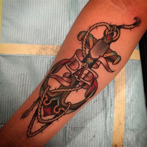 red anchor tattoo 95 best anchor designs meanings of the
