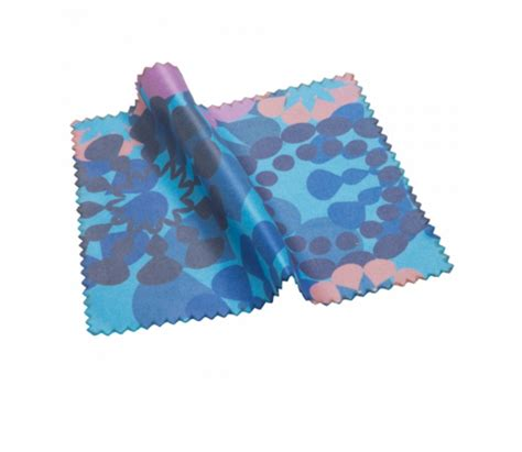 promotional microfibre lens cleaning cloth 150 x 180mm