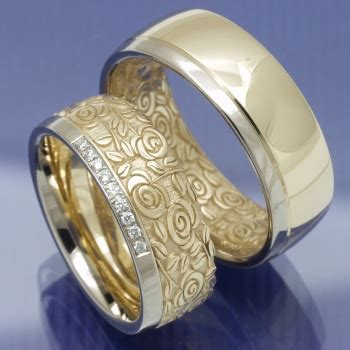 Besondere Hochzeitsringe by Eheringe Shop Edle Besondere Trauringe Aus 585