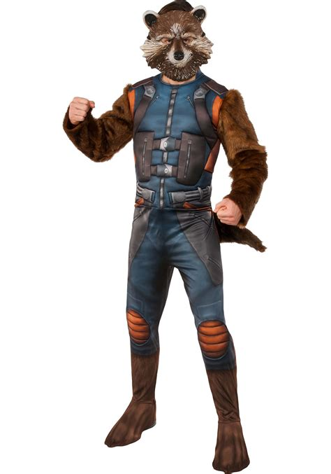 rocket raccoon costume deluxe rocket raccoon costume from guardians of the galaxy