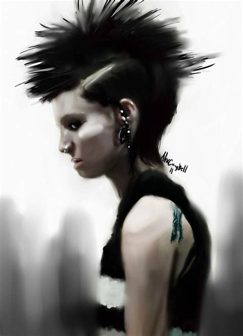 watch girl with the dragon tattoo the with the by feraldonkey on deviantart