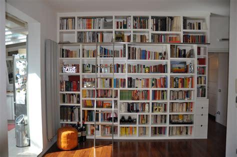 libreria billy rossa progettazione arredamenti su misura fadini mobili cerea