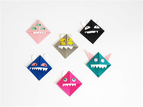 Origami Monsters - origami paper monsters