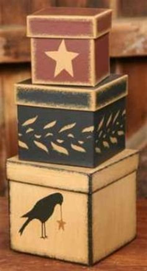 stackable boxes home decor 1000 ideas about primitive bedding on pinterest