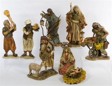 department 56 neapolitan nativity set lot 255