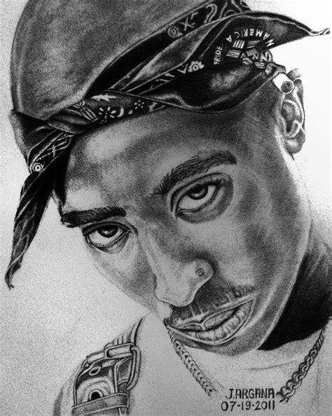 2pac Sketches by Tupac Amaru Shakur 2pac By Jempotz Tupac