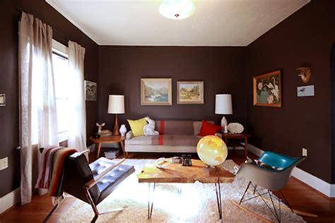 decoração sala de estar azul e marrom decora 231 227 o de sala parede marrom dicas fotos