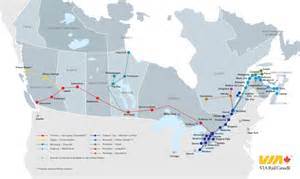 Canada Train Map by Railroad Map Of Canada You Can See A Map Of Many Places