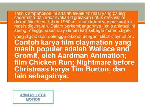 film animasi stop motion animasi stop motion