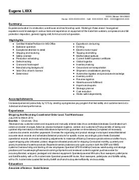 Resume Exles For Construction Supervisor sle resume residential construction superintendent