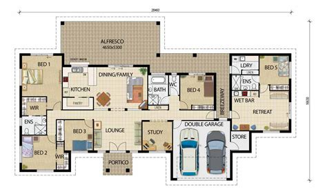 house floor plan designer acreage designs house plans queensland house designs