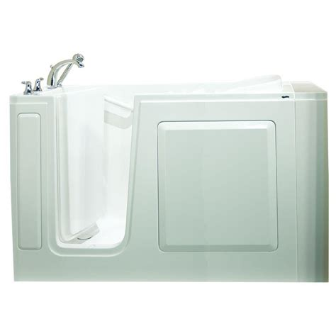 safety bathtubs safety tubs value series 51 in x 31 in walk in whirlpool