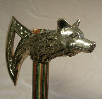 wolf axe axes  omega artworks