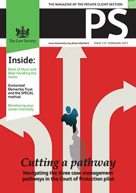 law society private client section ps magazine private client communities the law society