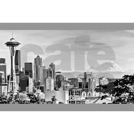 seattle curtain seattle shower curtain by organicpixels
