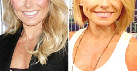 how does kelly ripa do her hair kelly ripa s new bob better now or before us weekly