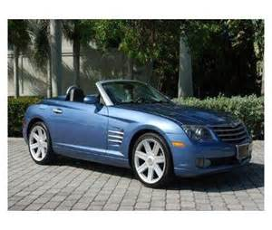 Chrysler 2 Seater Blue Chrysler Crossfire 2 Seater Convertible Future