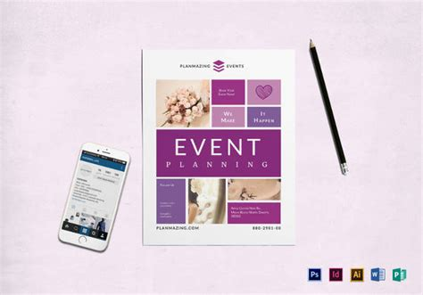 26 Free Download Event Flyer Templates In Microsoft Word Format Free Premium Templates Event Management Flyers Templates