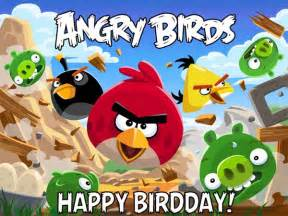 happy birthday angry birds celebrate 30 levels free mobile