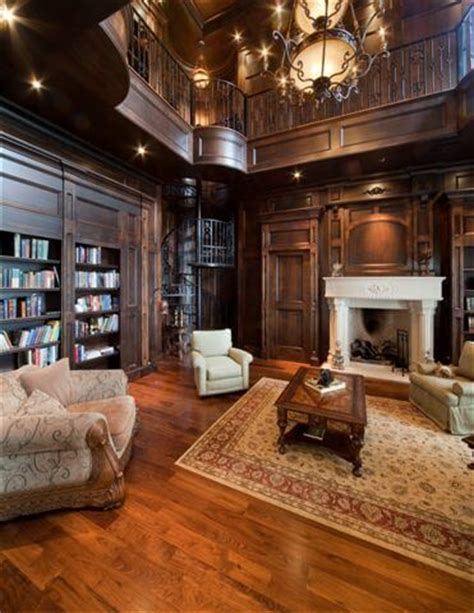 luxury library for home showcase beautiful country chateau luxury house plans