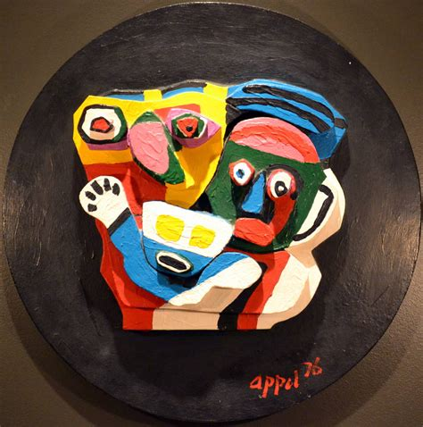 Karel Appel   Multiple Stone Sculpture #350, Sculpture at