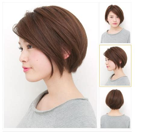 hairstyle for flat face pin by michelle tan on haircut pinterest short hair