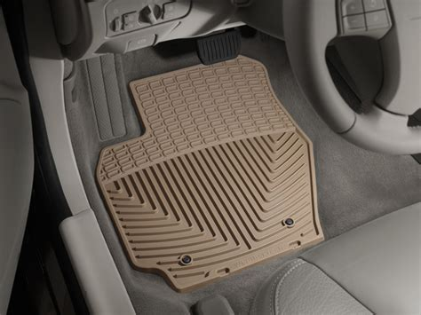 weathertech 174 all weather floor mats volvo xc60 2010 2016 tan ebay