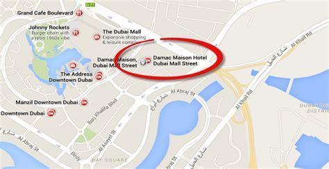 Dubai Mall Location Map The Dubai Mall Map United Arab Sunset Mall Dubai Map
