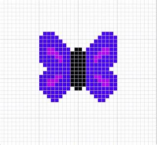 butterfly knitting chart knitting charts