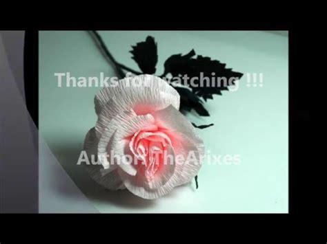 membuat bunga dari kertas krep youtube cara membuat bunga mawar dari kertas krep youtube