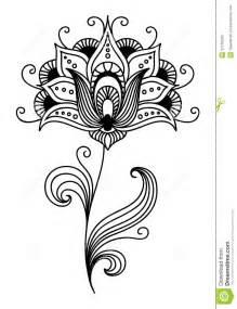 ornate persian floral design stock photo image 37140200