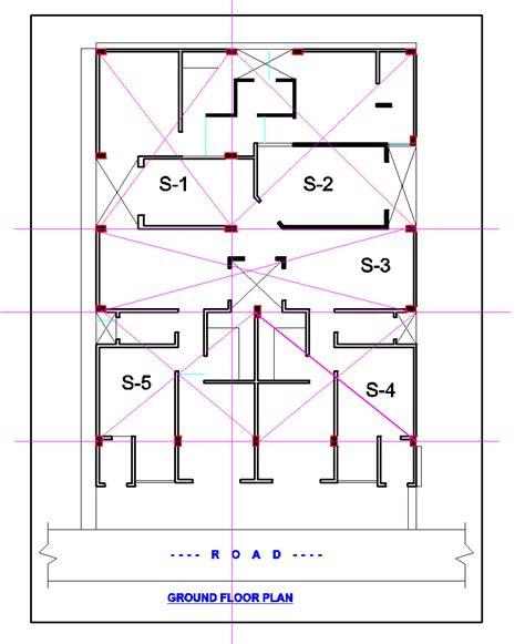 layout of multi storey building slab layout plan of the multi storey building